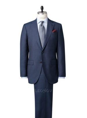 Повседневный костюм балтийский синий