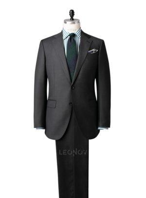 Повседневный угольно-серый костюм