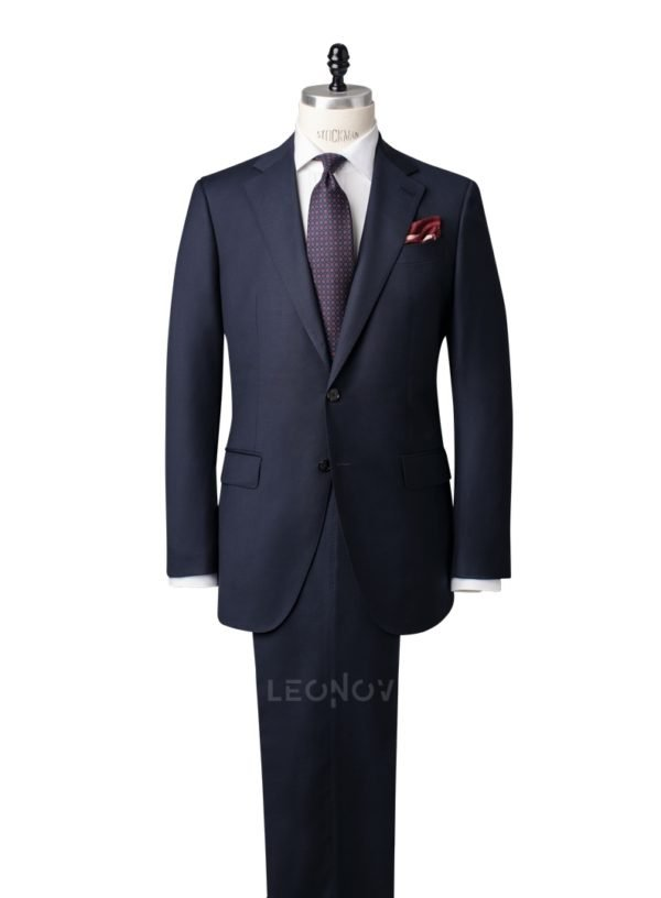 Классический костюм темно-синий