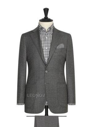 Фланелевый костюм средний серый