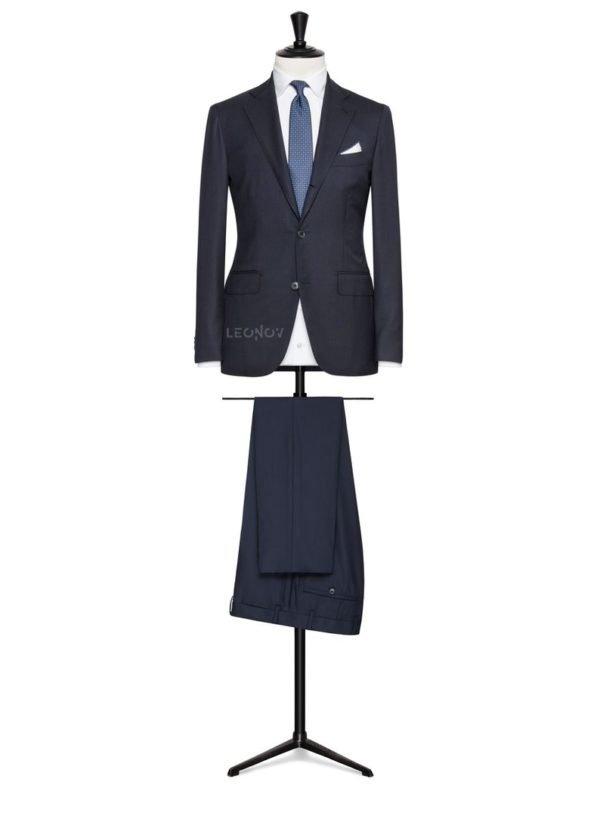 Твиловый темно-синий костюм