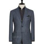 Фланелевый синий костюм