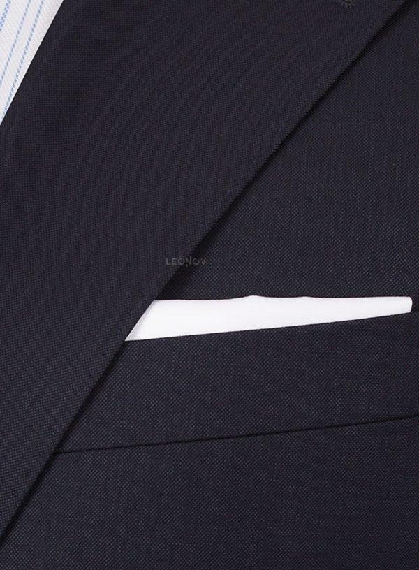 Костюм темно-синий с паттерном «акулья кожа» премиальный
