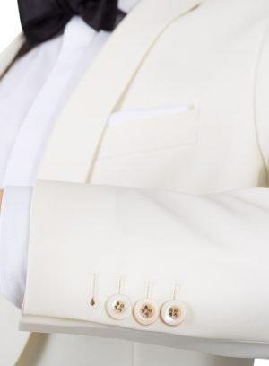 Обеденный костюм цвета слоновой кости