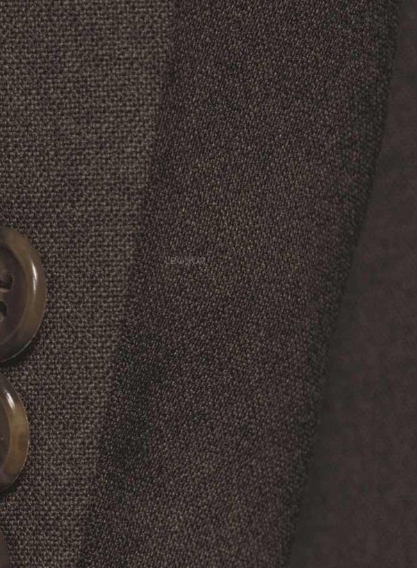 Коричневый костюм натуральный стрейч