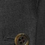 Костюм темно серый с чередующимся переплетением премиальный
