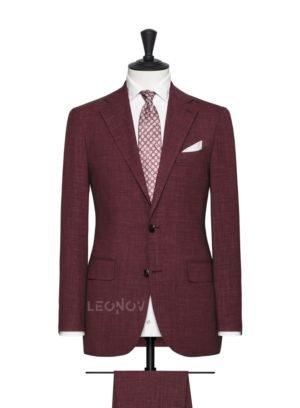 Карминовый мужской костюм