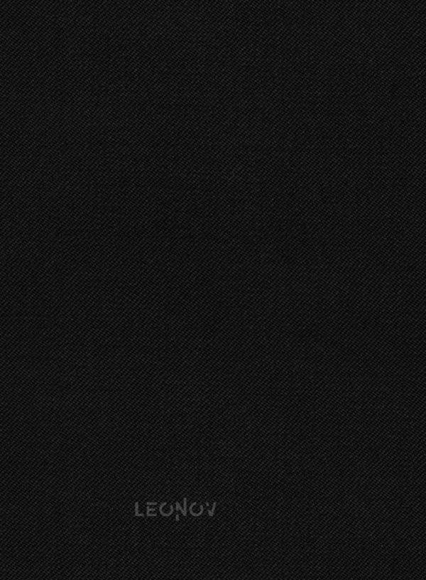 Костюм черный из чистой шерсти