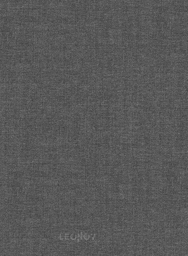 Классический серый костюм из шерсти и шелка