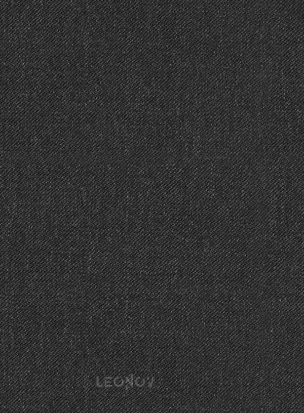 Костюм из чистой шерсти угольный