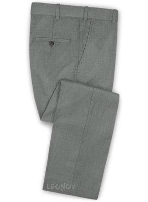 Серые деловые брюки из чистой шерсти – Reda
