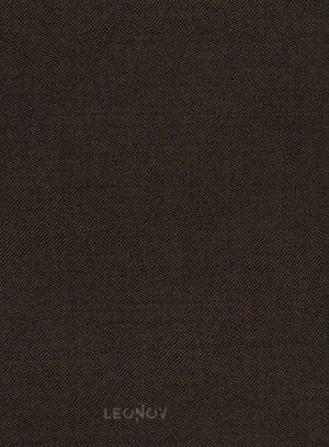 Темно-коричневый костюм из чистой шерсти