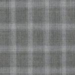 Серый костюм в светлую мелкую клетку из шерсти