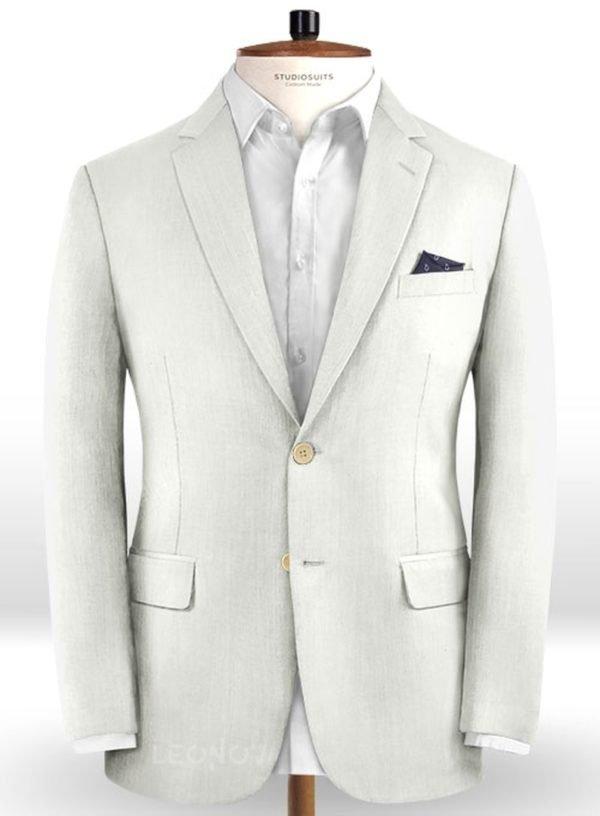 Пиджак цвета слоновой кости из чистой шерсти – Reda