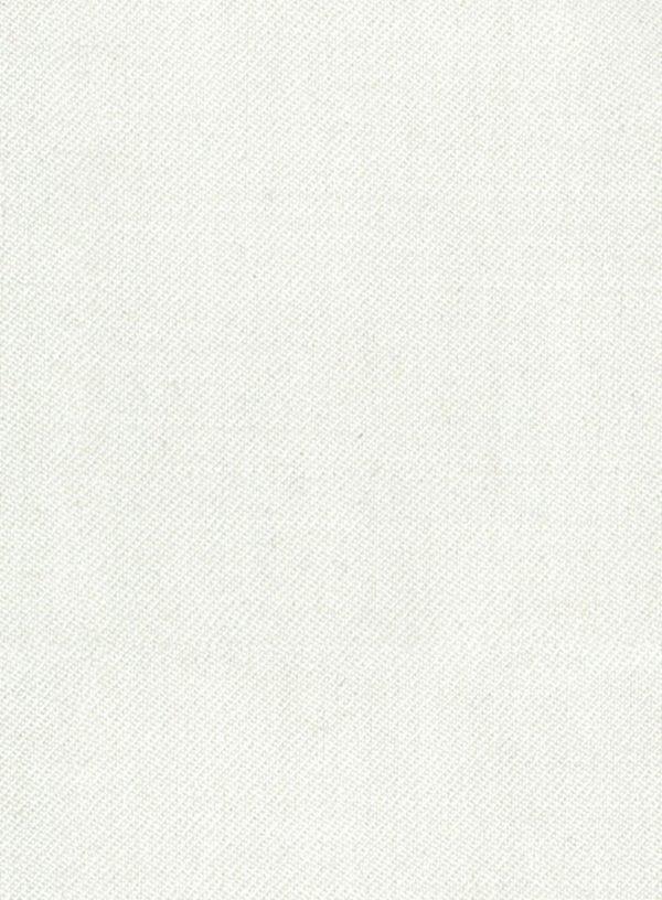 Костюм цвета слоновой кости из чистой шерсти