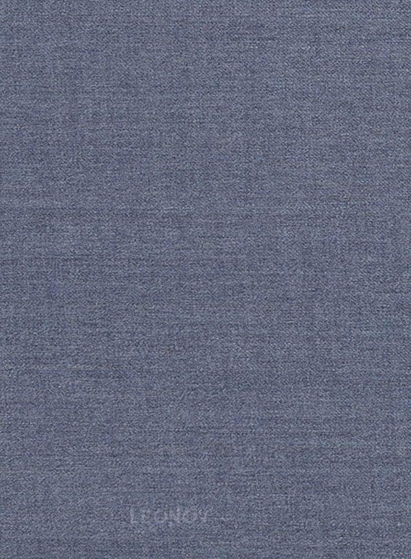 Костюм цвета стальной синий из чистой шерсти