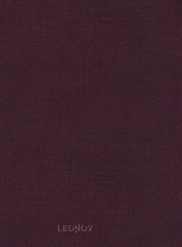 Костюм винного цвета из чистой шерсти