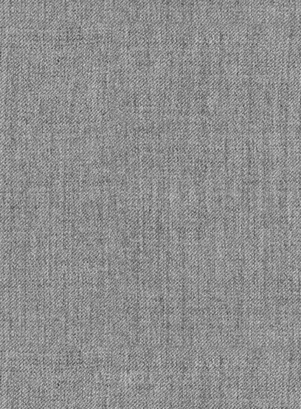 Костюм средне серый из чистой камвольной шерсти