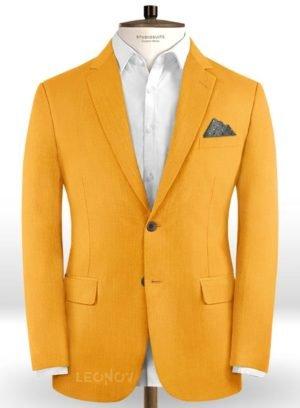 Ярко оранжевый пиджак из шерсти – Scabal