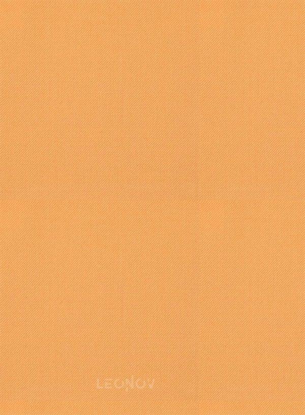 Светло-оранжевый костюм из шерсти