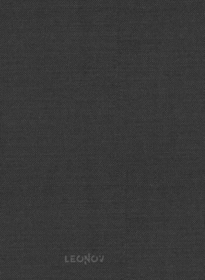 Костюм из шерсти угольный черный