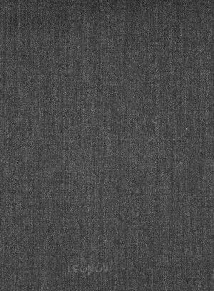 Угольно-серый твиловый костюм из шерсти