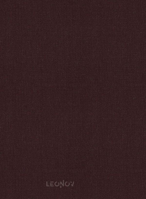 Костюм темного винного цвета из шерсти