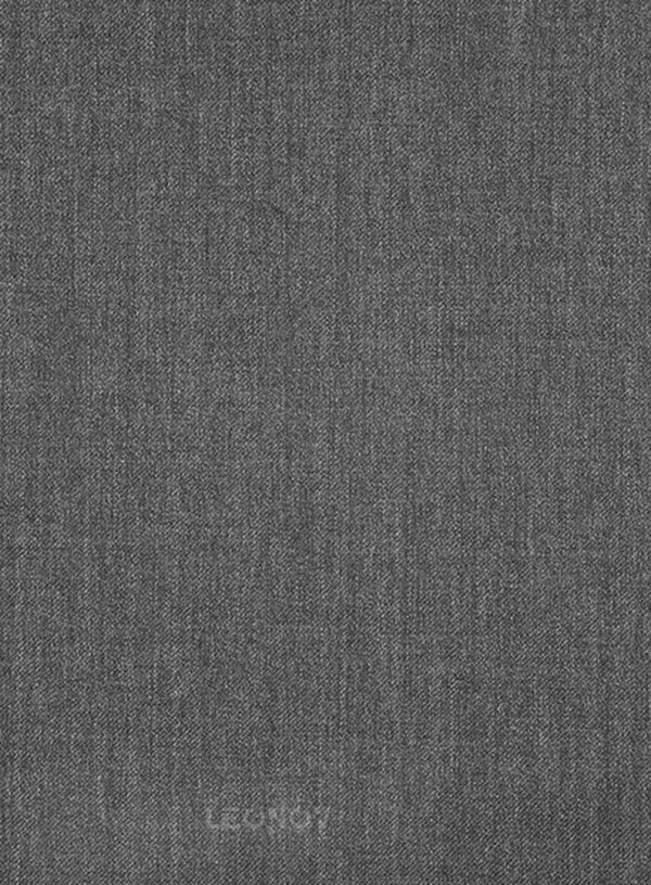 Графитовый серый костюм из шерсти