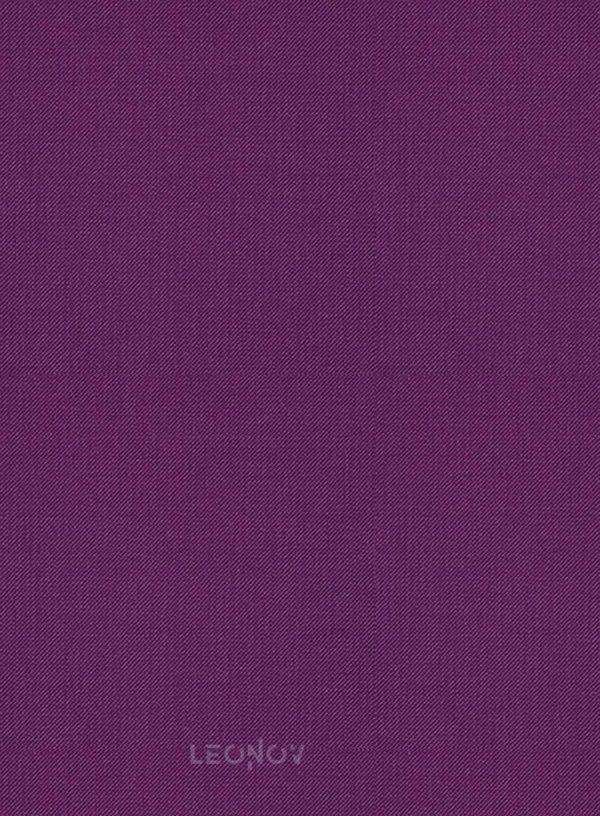 Костюм из шерсти насыщенный фиолетовый