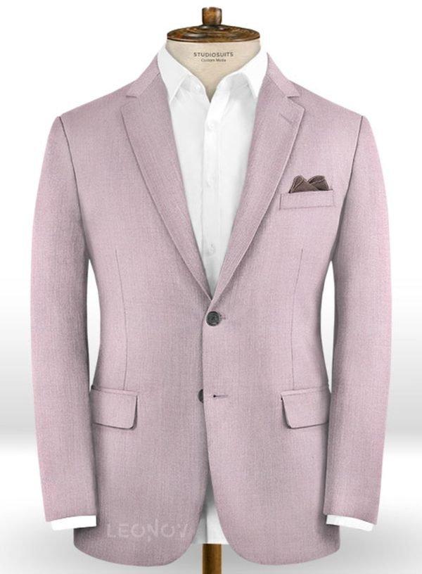 Пиджак из шерсти холодный винный