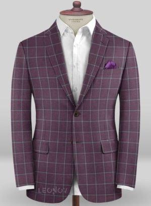 Пиджак ирисового цвета из шерсти – Scabal