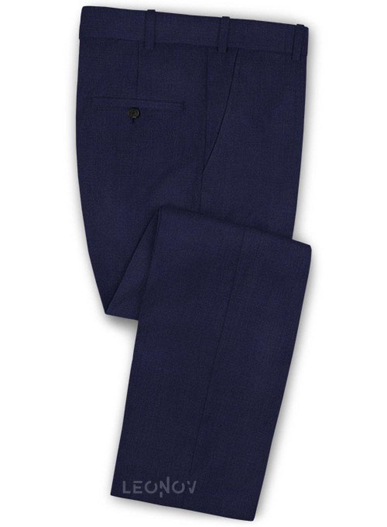 Офисный темно-синий костюм из шерсти – Scabal в Санкт ...  Темно Синий Костюм Рубашка