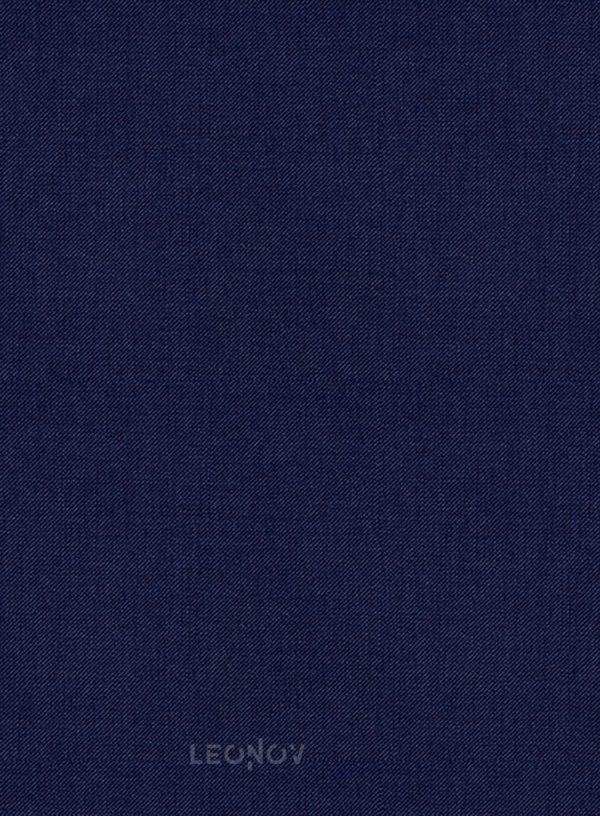 Костюм из шерсти королевский синий