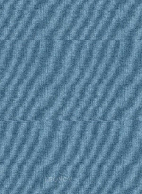 Костюм из шерсти стальной синий