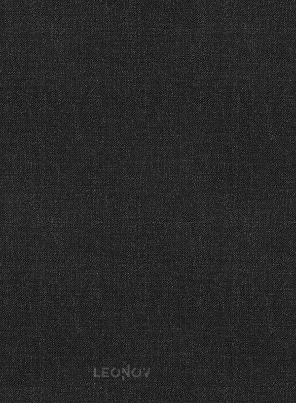 Костюм темно-угольный из камвольной шерсти