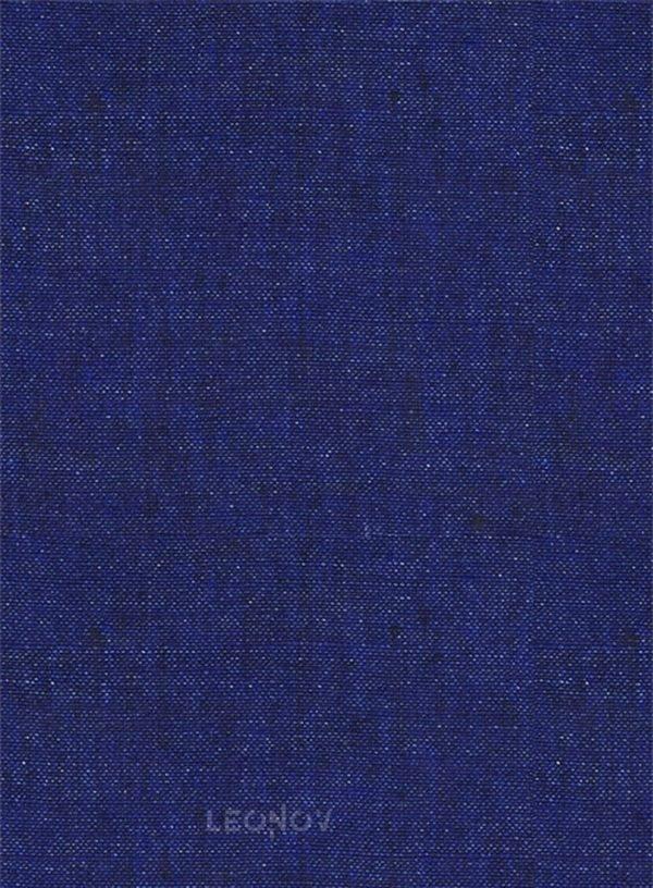 Костюм цвета индиго из льна