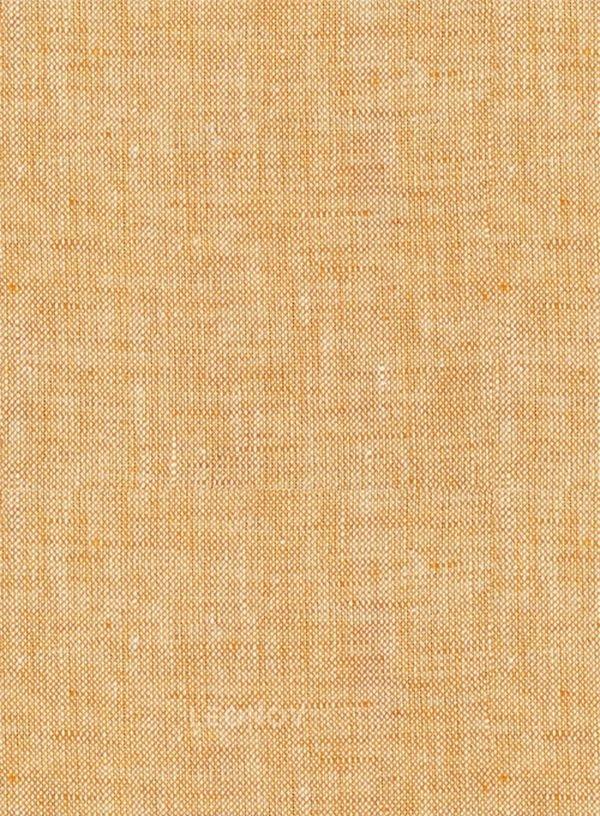 Летний костюм дынного цвета из льна