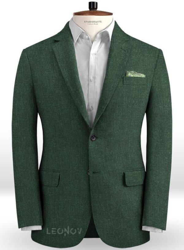 Летний пиджак цвета зеленое стекло – Solbiati