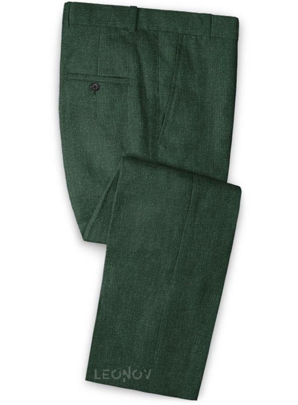Летние брюки цвета зеленое стекло – Solbiati