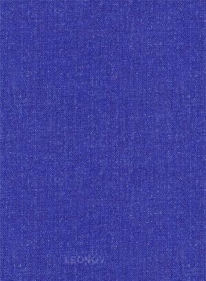 Летний ярко-синий костюм из льна