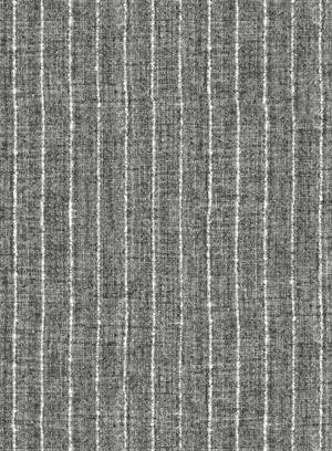 Костюм в тонкую полоску серый из льна