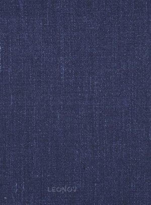 Повседневный деловой синий костюм из шелка, шерсти и льна