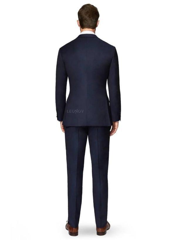 Полуночный синий мужской костюм