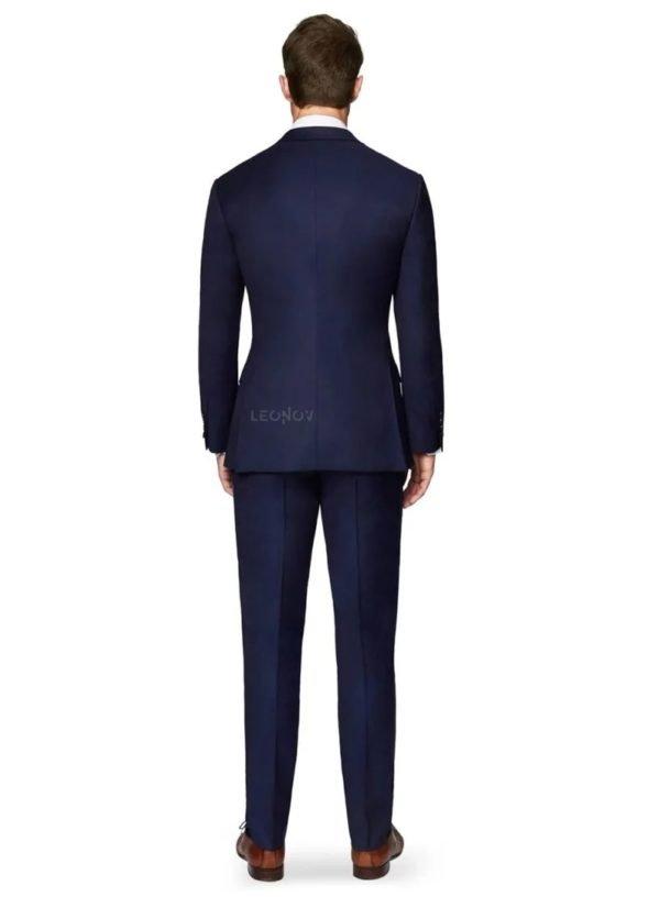 Костюм оксфордский синий
