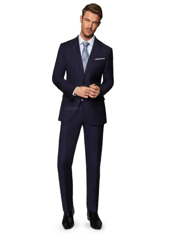 Облегченный костюм темно-синий