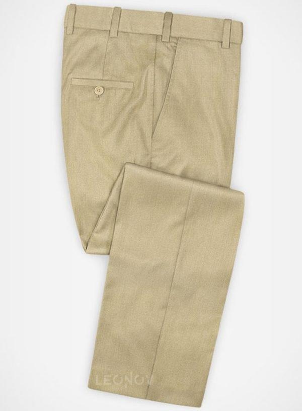 Повседневные бежевые брюки из шерсти – Zegna