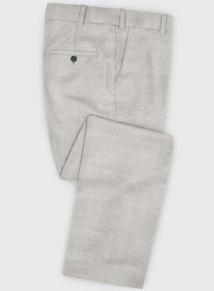 Классические светло-серые брюки из шерсти – Zegna